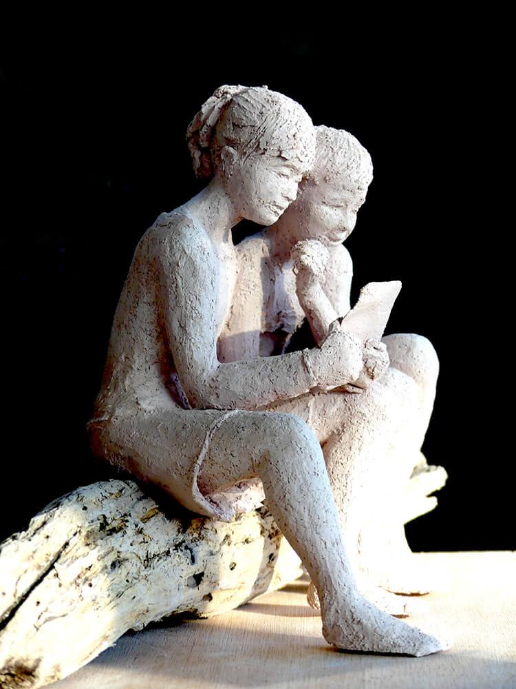 Lecture jeunes filles (tablette) 2