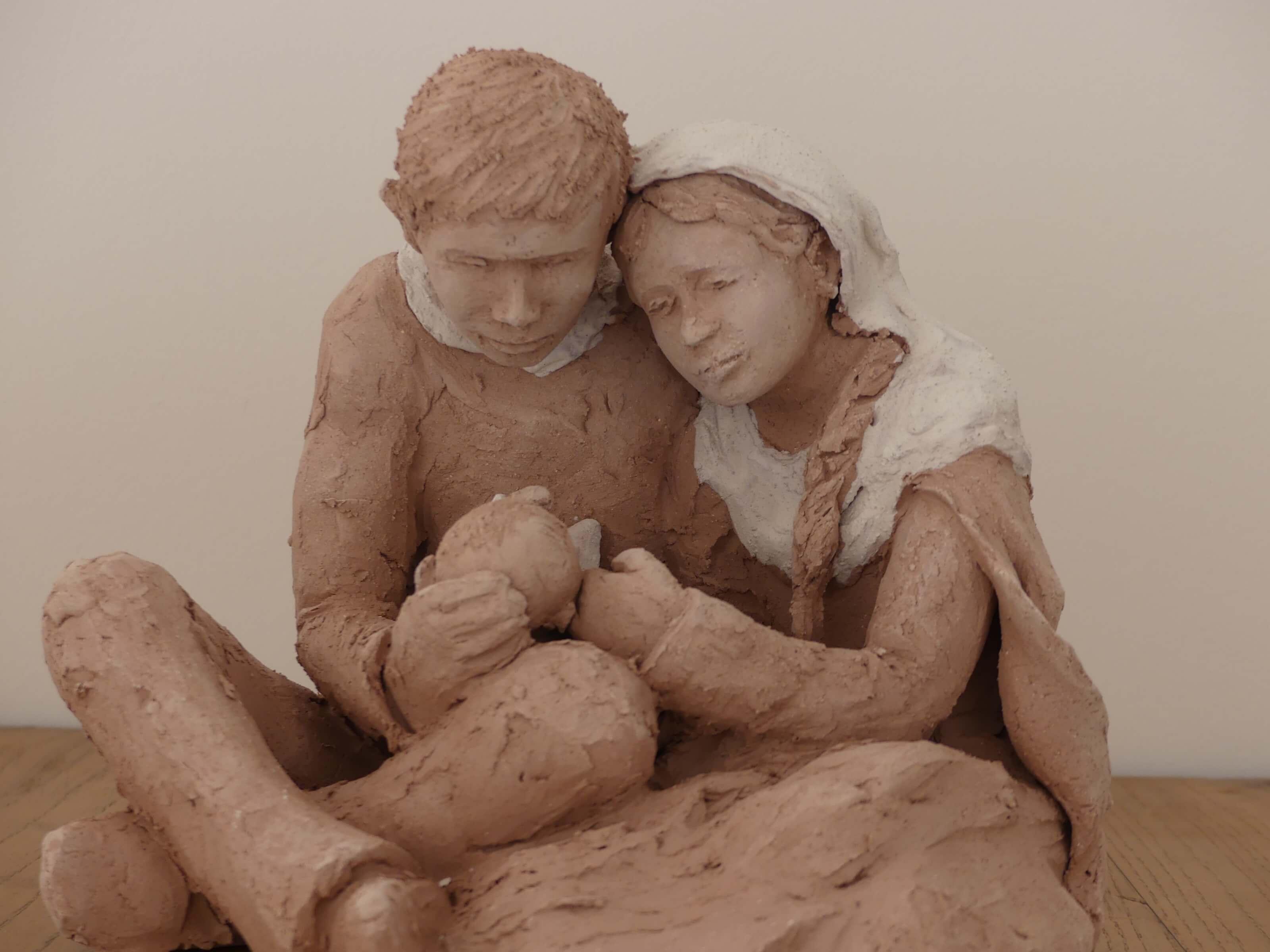 Couple à l'enfant