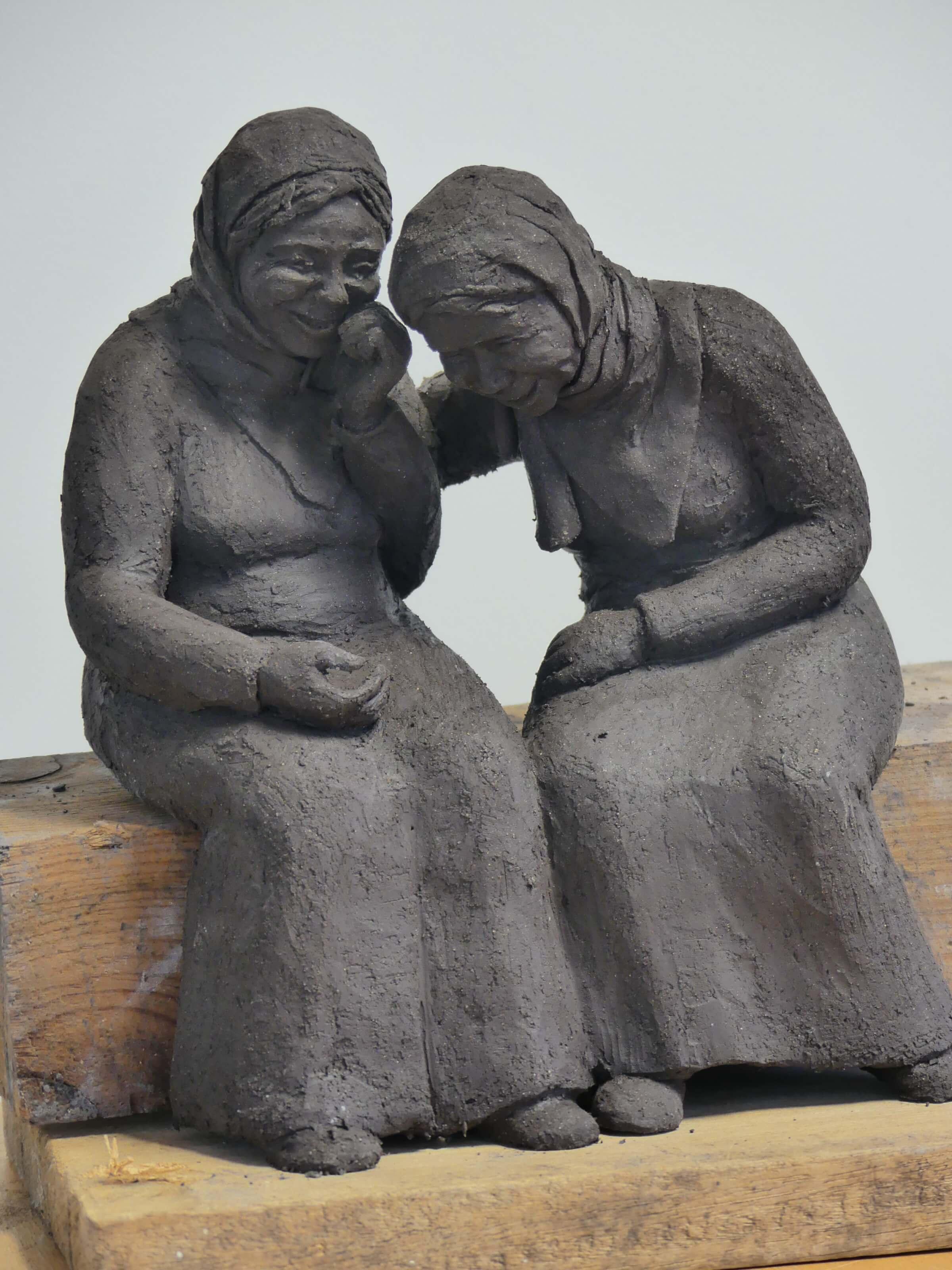 Complicité (deux vieilles dames)
